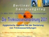 100/ml - Berliner Sanierungstage