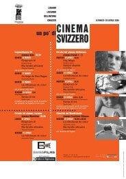 un po' di - Circolo del Cinema di Bellinzona