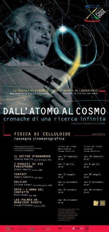 cronache di una ricerca infinita - Circolo del Cinema di Bellinzona