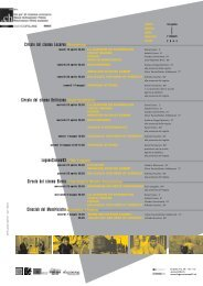 Circolo del cinema Locarno Morettina Circolo del cinema Bellinzona ...