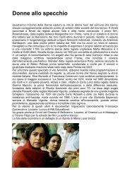 Donne allo specchio - Circolo del Cinema di Bellinzona