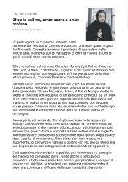 altro cinema 24 maggio - Circolo del Cinema di Bellinzona