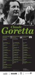 Claude Goretta - Circolo del Cinema di Locarno