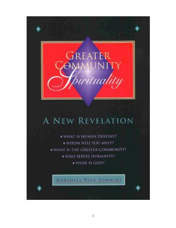 GreaterCommunitySpirituality