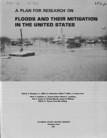 A plan for research on floods and their mitigation in the United States.