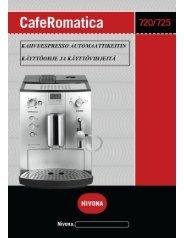 CafeRomatica 720/725/740 (PDF) -  Nivona