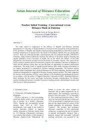 Teacher Initial Training: Conventional versus Distance Mode in ...