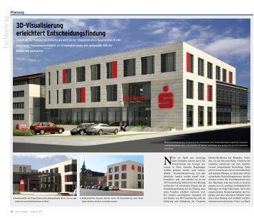 3D-Visualisierung erleichtert Entscheidungsfindung - Banco ...