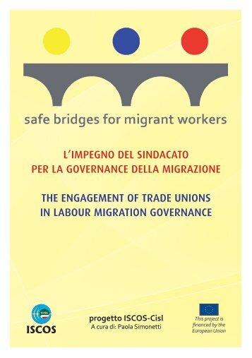 l'impegno del sindacato per la governance della migrazione the ...