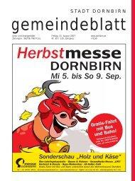"""Sonderschau """"Holz und Käse"""" - Dornbirn Online"""