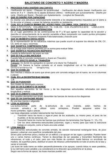BALOTARIO DE CONCRETO Y ACERO Y MADERA