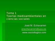 Tema 1 Teorías - Socioilógico