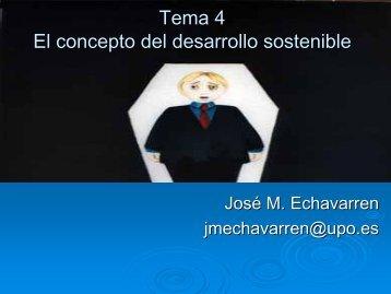 Tema 4 El concepto del desarrollo sostenible