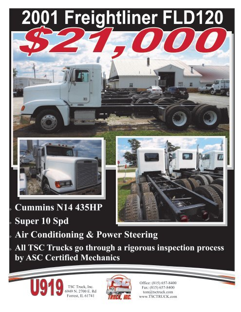 2001 Freightliner FLD120 - The Truck Paper