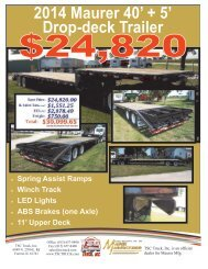 2014 Maurer 40' + 5' Drop-deck Trailer - The Truck Paper