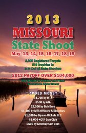 State Shoot - Missouri Trap Shooters Association