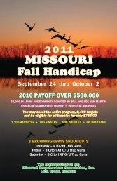 MTA GUN CLUB - Missouri Trap Shooters Association