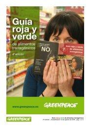 Guía roja y verde de alimentos transgénicos 4ª edición ...