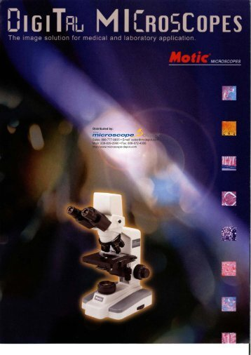 The Microscope Depot - Motic - DMWB3