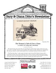 The Woman's Club of Chevy Chase - The Ditto Group