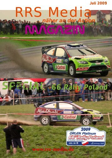 RRS Media Magazin Special Rally Poland 2009