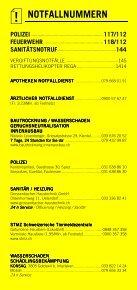 Infomerkblatt Spiez und Umgebung - Seite 2