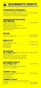Infomerkblatt Spiez und Umgebung - Seite 7