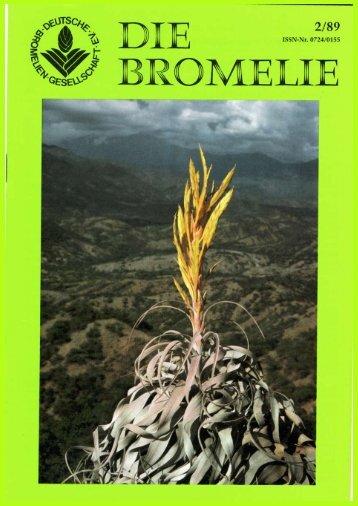 manfred meyer - Die deutsche Bromelien-Gesellschaft eV