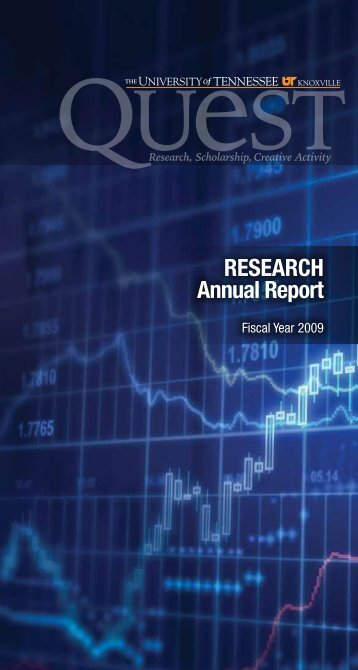 Annual Report for Fiscal Year 2009 (PDF) - Office of Research ...