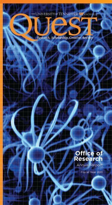 Annual Report for Fiscal Year 2011 (PDF) - Office of Research ...