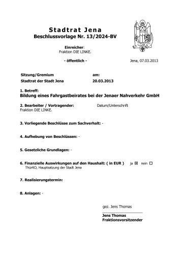 Stadtrat Jena - Dr. Gudrun Lukin