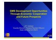GMS Development Opportunities Through Economic ... - RCSD