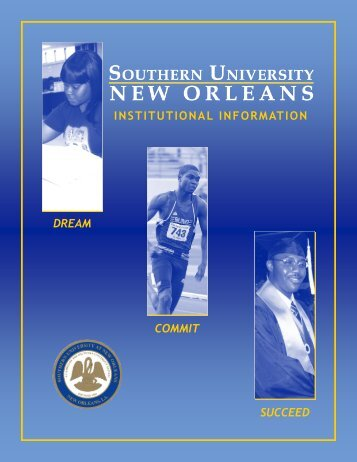 find out more about SUNO! - Southern University New Orleans