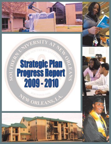Strategic Plan Report 2010 - Southern University New Orleans