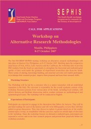 Workshop on Alternative Research Methodologies - RCSD
