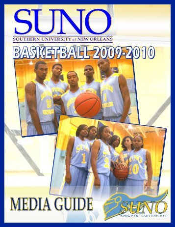 Media Guide - Southern University New Orleans