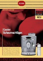 Salesblatt 620er limited.indd - Nivona
