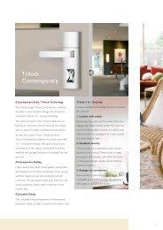 Gainsborough Trilock (PDF) - Door Hardware Sydney
