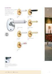 Gainsborough Leverline (PDF) - Door Hardware Sydney