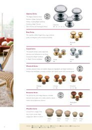 Gainsborough Diplomat Brass Crystal Woodcraft Stoneware Woodline