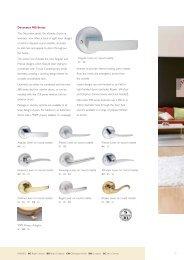 Gainsborough Decorator 900 (PDF) - Door Hardware Sydney