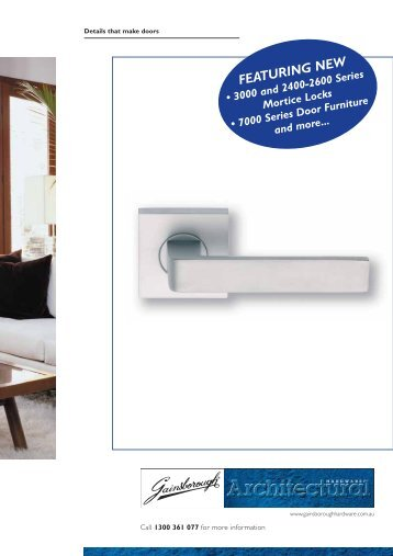 Details that make doors - Door Hardware Sydney  sc 1 st  Yumpu & Gainsborough 9600 On Round Rosette - Door Hardware Sydney