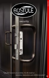Austyle Security Locks (PDF) - Door Hardware Sydney