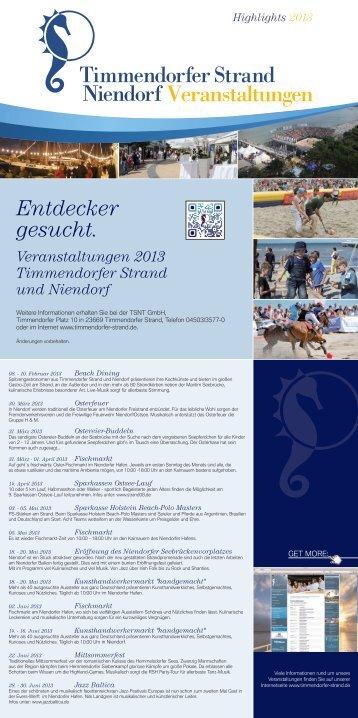 Veranstaltungen - Mercure Hotel Timmendorfer Strand