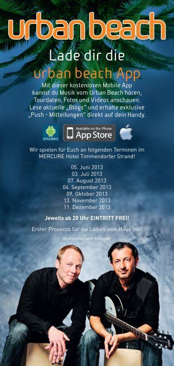 Download Flyer - Mercure Hotel Timmendorfer Strand