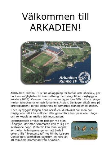 Välkommen till ARKADIEN! - Rimbo IF