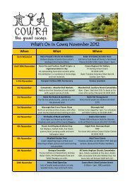 What's On In Cowra November 2012 - Cowra Tourism