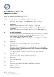 Styrelsemöte (Nr 2-2013) - Rimbo IF