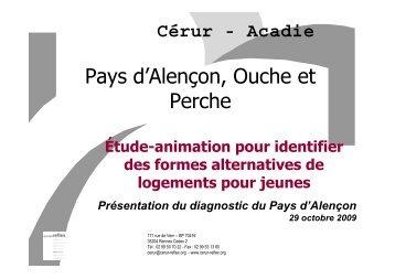 Diagnostic et enjeux sur le Pays d'Alençon
