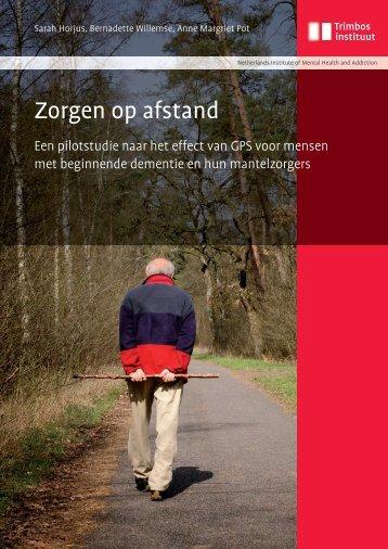 Zorgen op afstand (pdf) - In voor zorg!